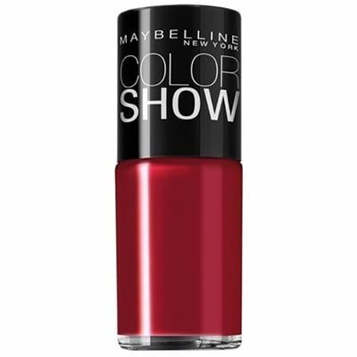 ESMALTE COLOR SHOW 10ML MAYBELLINE - 265 RED CARPET