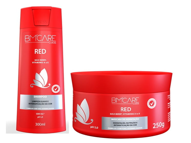 BM'CARE BARRO MINAS COLORS RED - BARROMINAS