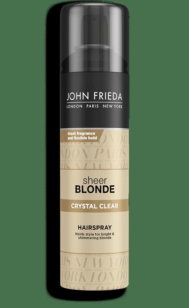 John Frieda Sheer Blonde Crystal Clear Shape & Shimmer Hairspray - Finalizador