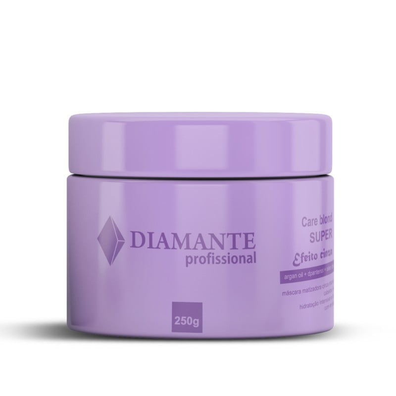 Máscara Care Blond Super Efeito Cinza - Diamante
