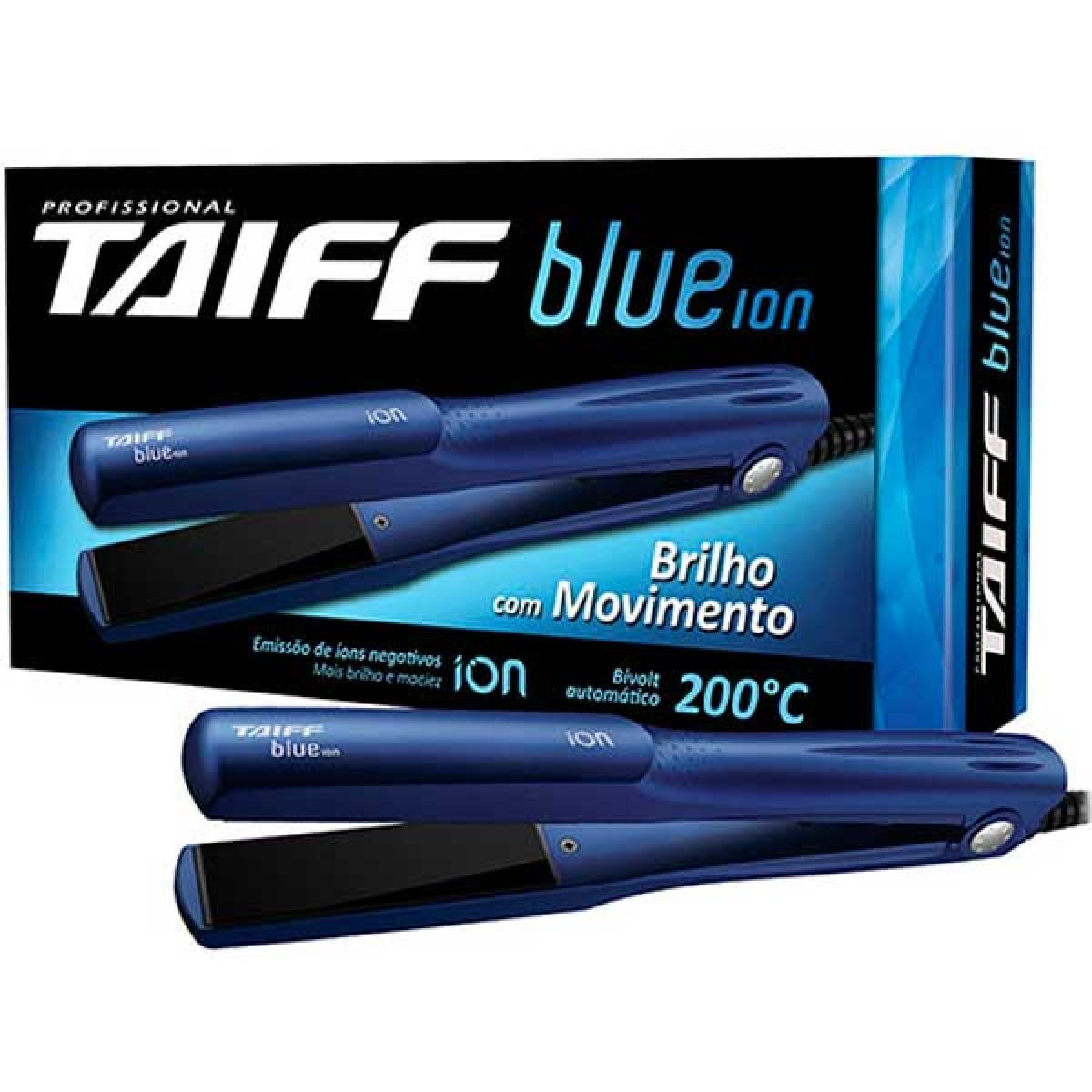 Prancha Taiff - Blue Ion 200 Graus - Taiff