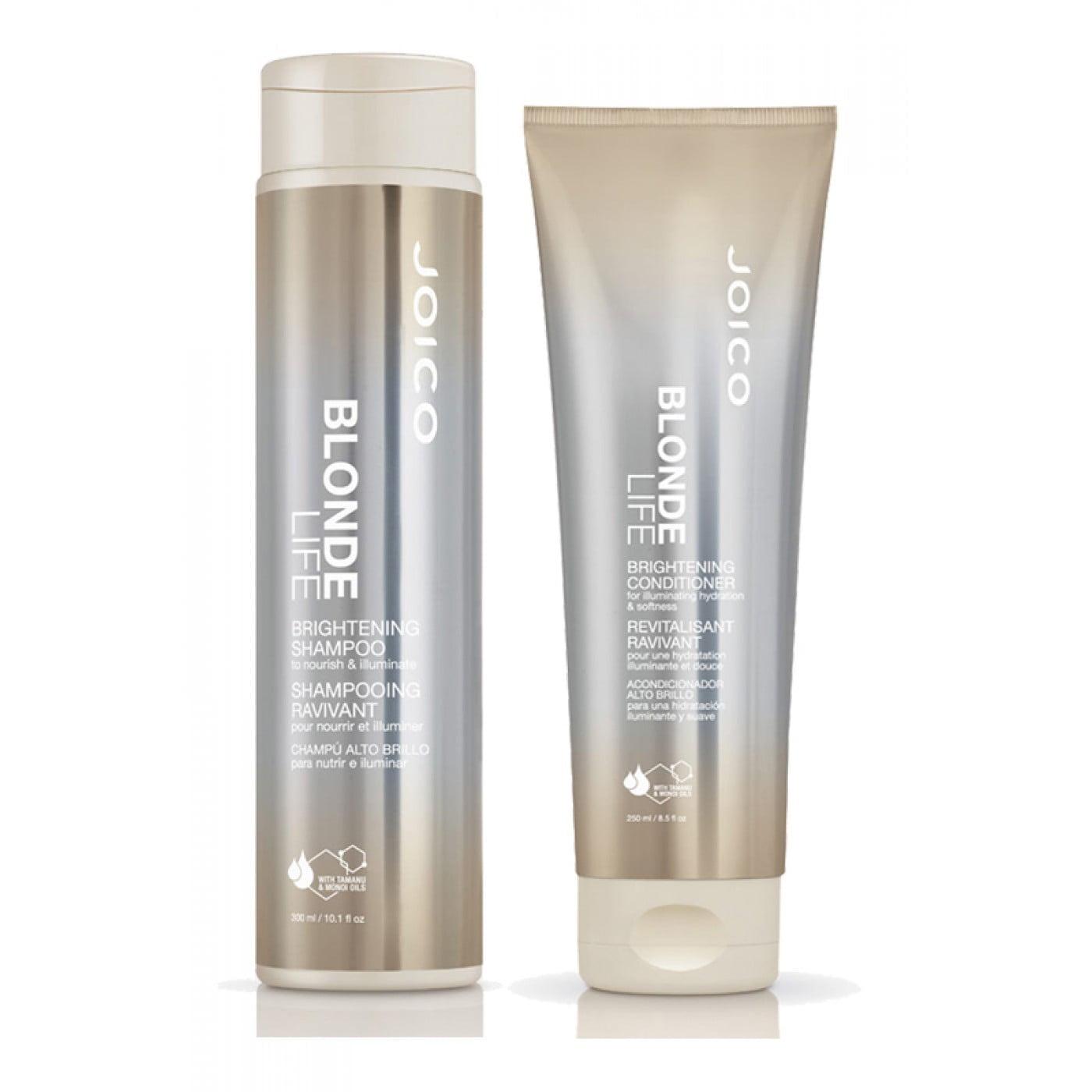 Shampoo e Condicionador Iluminador Joico Blonde Life para Cabelos Loiros - Joico