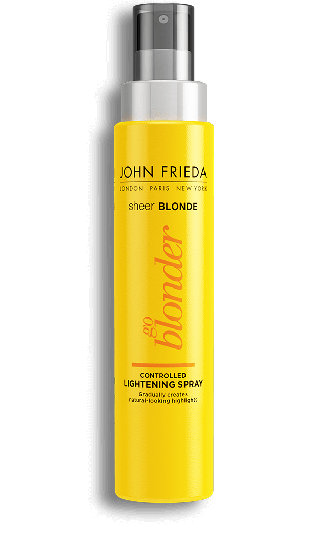 SHEER BLONDE GO BLONDER CONTROLLED LIGHTENING SPRAY CLAREADOR - JOHN FRIEDA