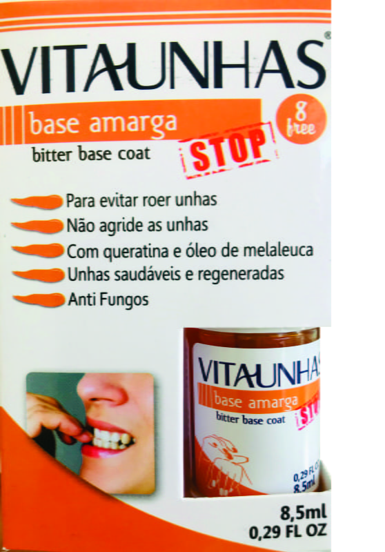 VitaUnhas - Base Amarga STOP