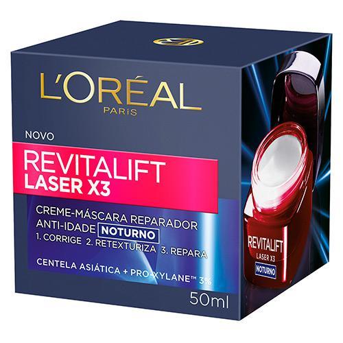 REVITALIFT LASER X3 LOREAL - ANTI-IDADE NOTURNO