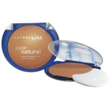 PÓ COMPACTO SUPER NATURAL UV BLOCK FPS 30 - MAYBELLINE