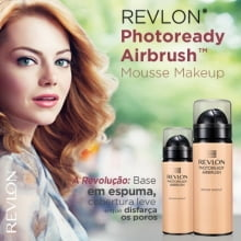 BASE PHOTOREADY AIRBRUSH MOUSSE MAKE COR 40 NATURAL BEIGE - REVLON