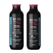 KIT SHAMPOO + CONDICIONADOR -  PRO-HAIR DD CREAM - NICK & VICK