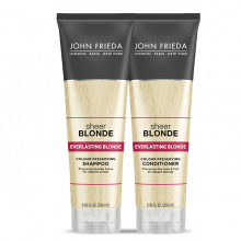 JOHN FRIEDA - KIT SHEER BLONDE EVERLASTING BLONDE SHAMPOO + CONDICIONADOR - JOHN FRIEDA 250ML