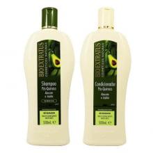 Kit Pós-Química Shampoo e Condicionador Bio Extratus