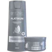 SHAMPOO BARRO MINAS - BM'CARE COLORS PLATINUM - BARROMINAS